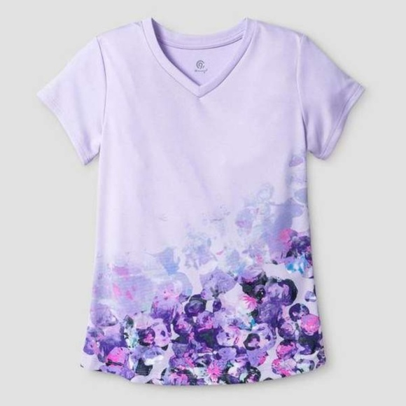Champion Other - Champion S9613 Girls Graphic T-Shirt Lilac Purple